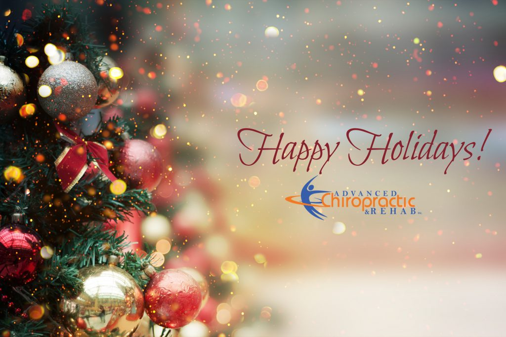 Happy Holidays from Advanced Chiropractic and Rehab Inc